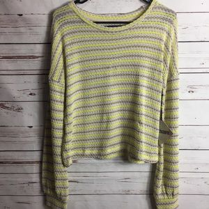NWT SWEET & SINFUL KNIT SWEATER